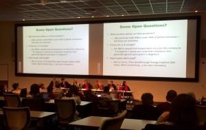 Tech panel on Paris accord