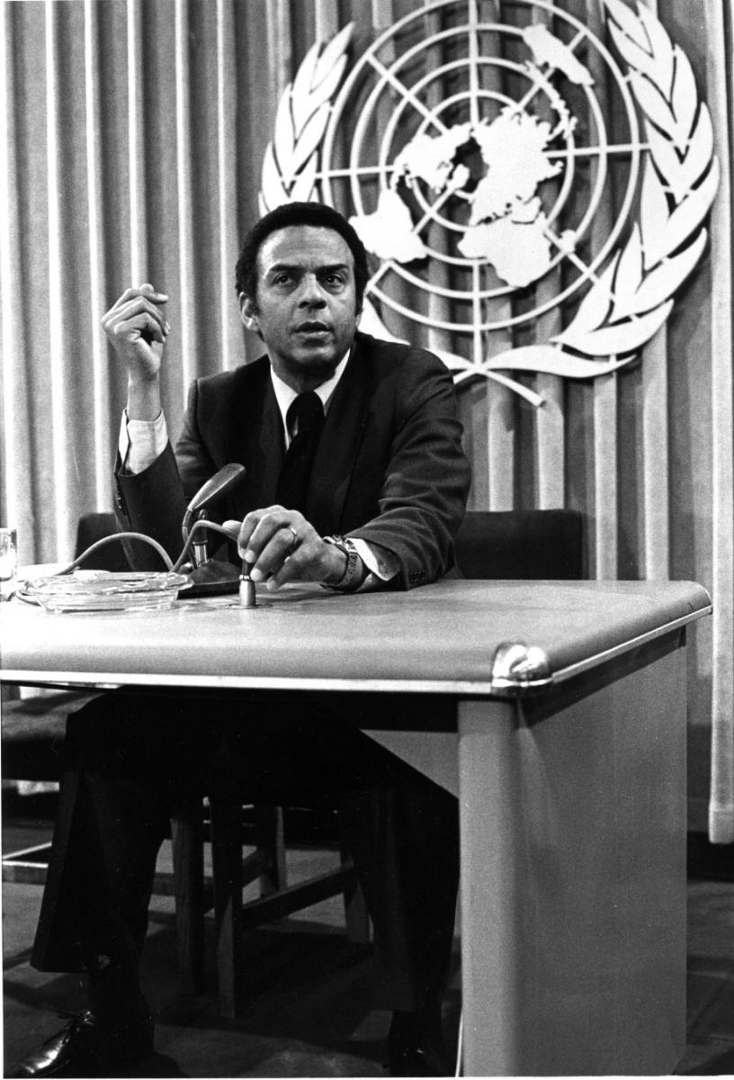 Young became the US ambassador to the UN in 1977
