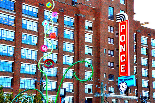 Ponce City Market Sign by Lisa Panero