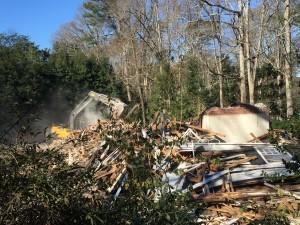 Tuxedo demolition