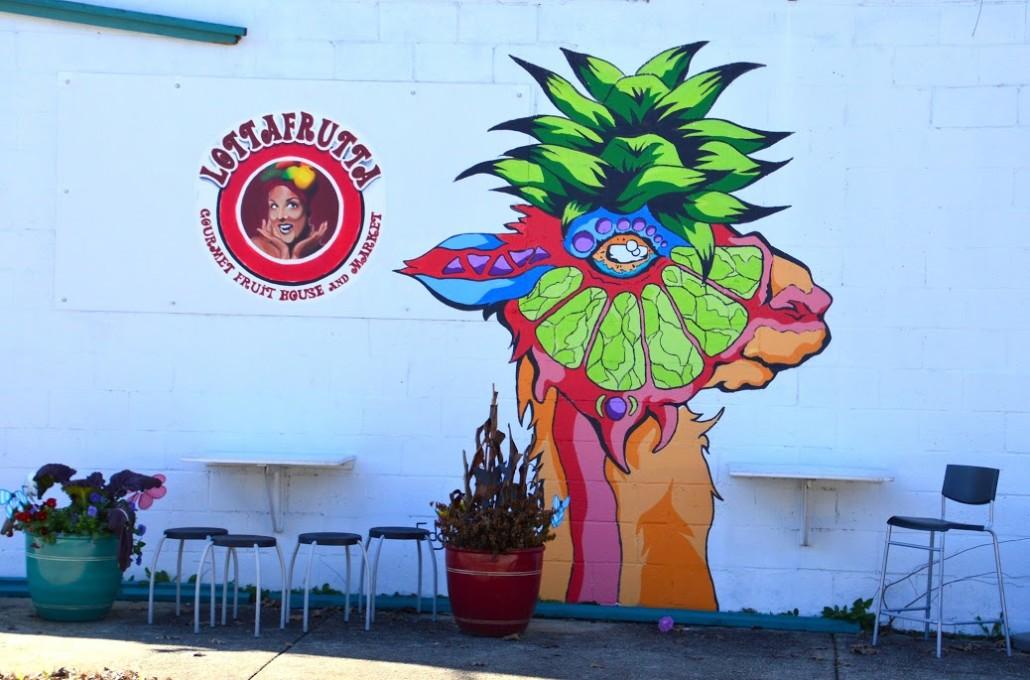 LottaFrutta Mural by Lisa Panero
