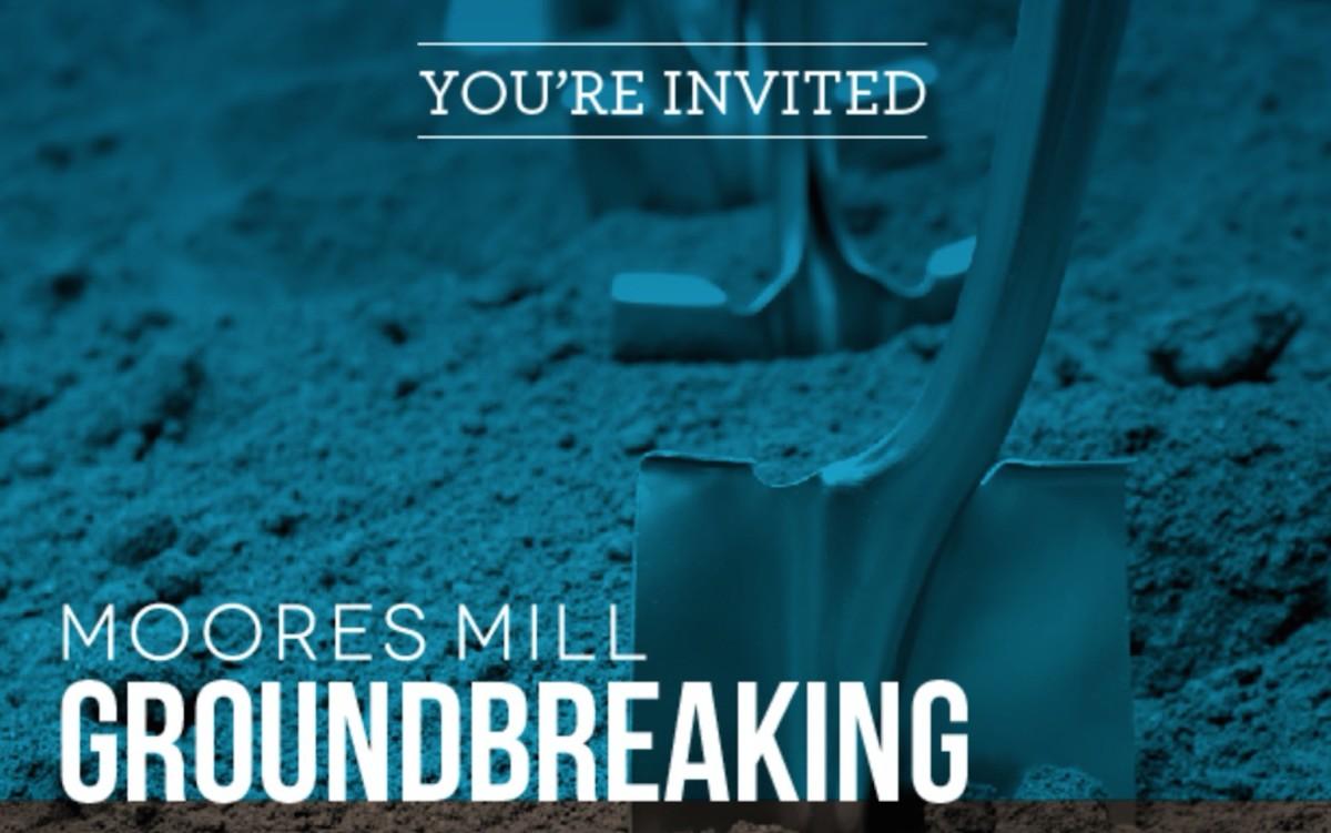 Moores Mill groundbreaking 3:2