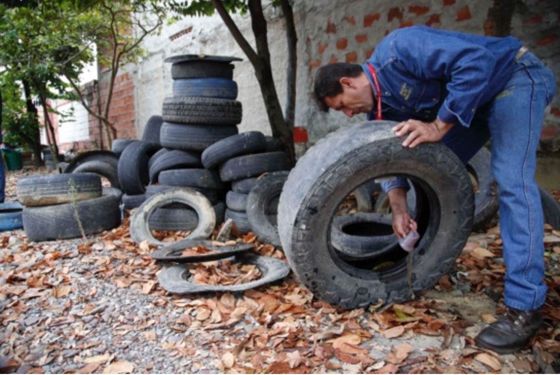 Tires, zika
