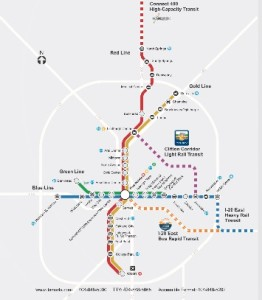 MARTA expansion map