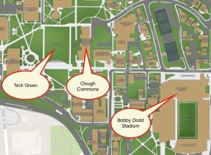 tech green map