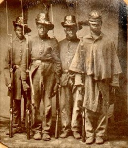 Members of the 33rd U.S. Colored Troops