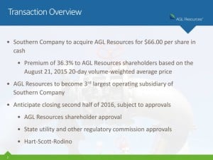 AGL Southern transaction overview