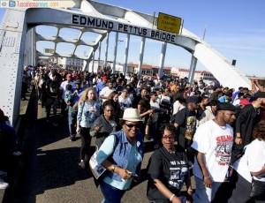 Bloody Sunday Bridge Crossing 2016