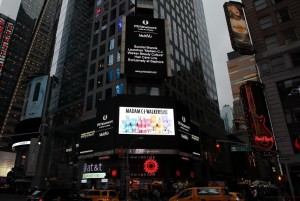 Madam C.J. Walker on Broadway sign