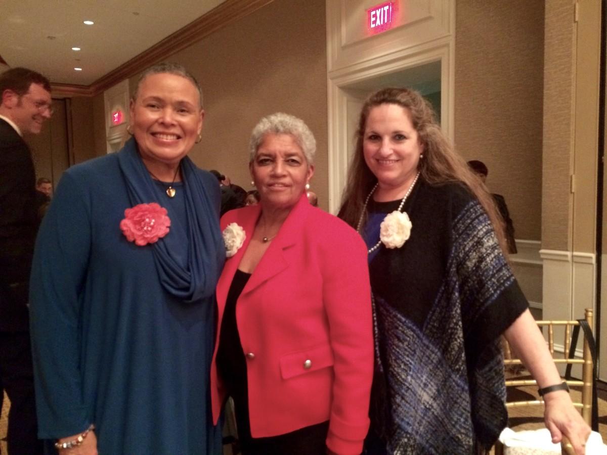 Alexis Scott, Shirley Franklin, Maria Saporta