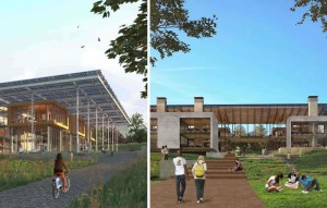 Georgia Tech's Living Building Challenge 3.0 requires a building to have a net positive impact on the environment. COURTESY OF GEORGIA TECH