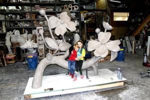 Dogwood sculpture