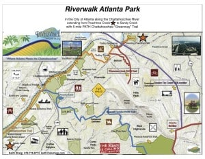 Riverwalk map