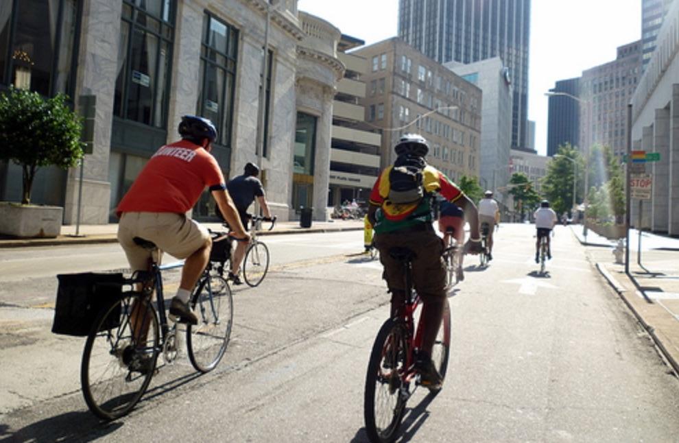 Atlanta bicycling