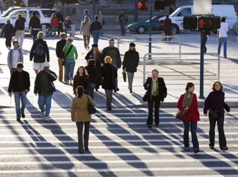 Atlanta pedestrians