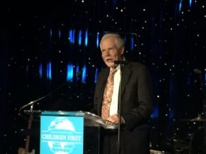 Ted Turner at UNICEF event in Atlanta (Photo by Maria Saporta)