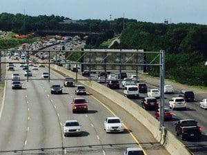Traffic congestion, NW corridor