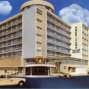 Americana Motor Hotel. Image courtesy of the Cuba Family Archives for Southern Jewish History at the Breman Museum