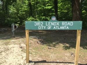 Lenox Road park