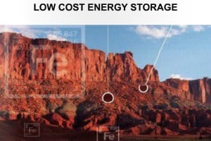 Low cost energy storage