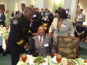 George Turner, Andrew Young, Bernice King