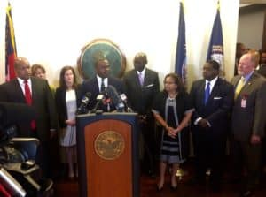 Mayor Reed press conference