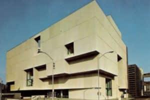 Central Library, concrete