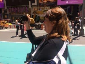 Elena in New York