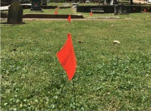 Oakland Cemetery, unmarked graves