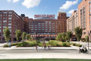 Ponce City Market, the newest neighbor to the Ponce magnolia. Courtesy of Ponce City Market