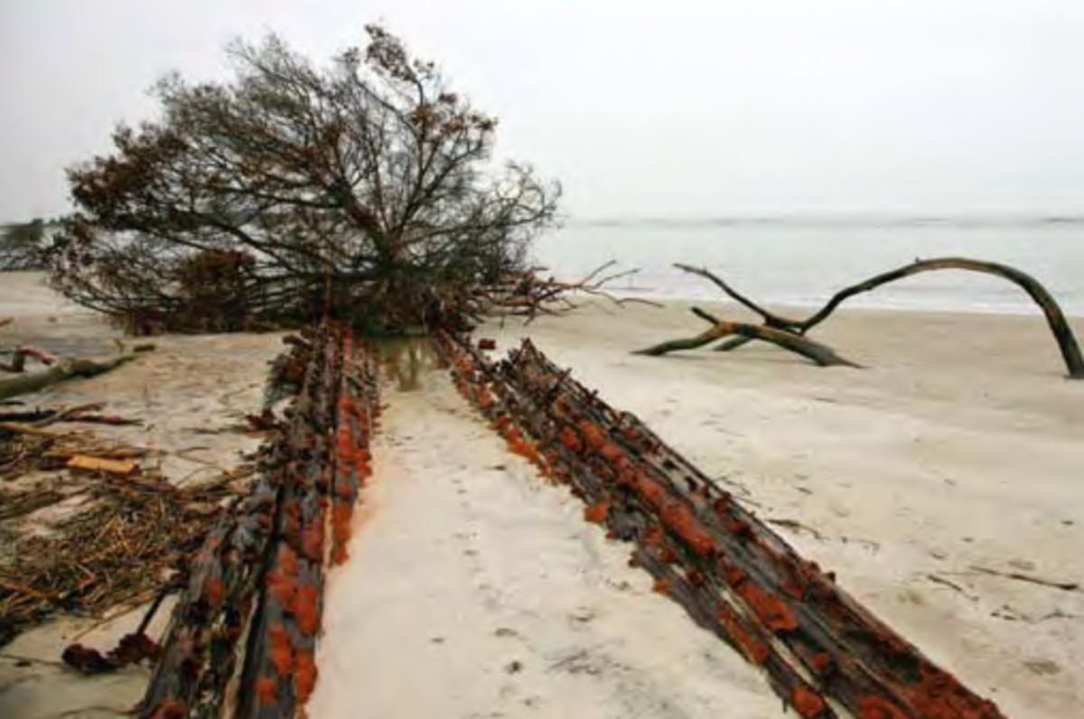 Cabretta Inlet Shipwreck