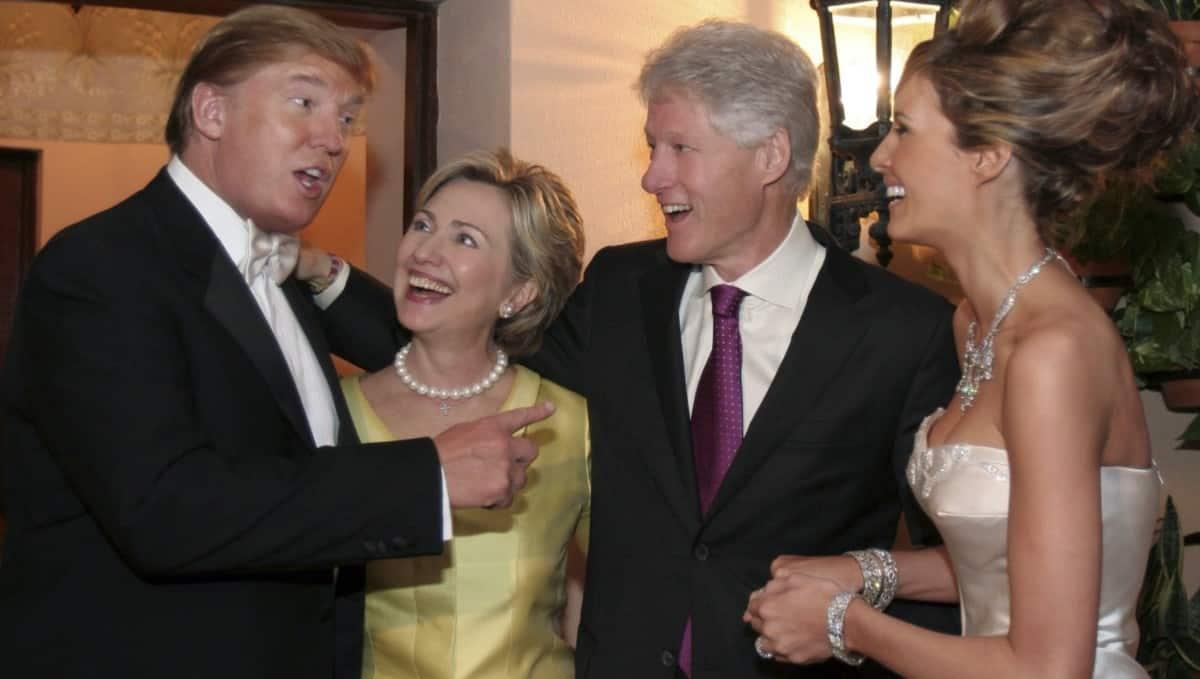 Trumps, Clintons, 2