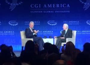 Bill Clinton, Jimmy Carter
