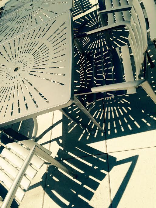 Clough Commons roof - Ga Tech by Kelly Jordan