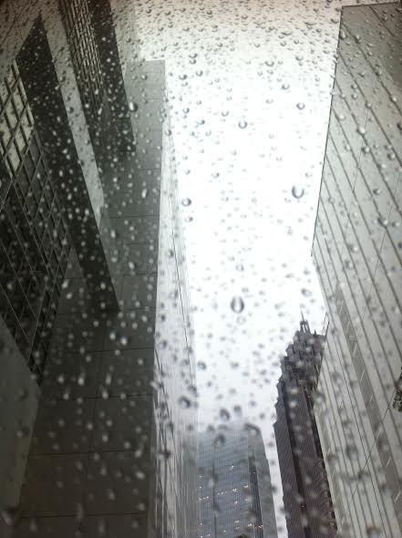 Lookin' out for rain by Kelly Jordan