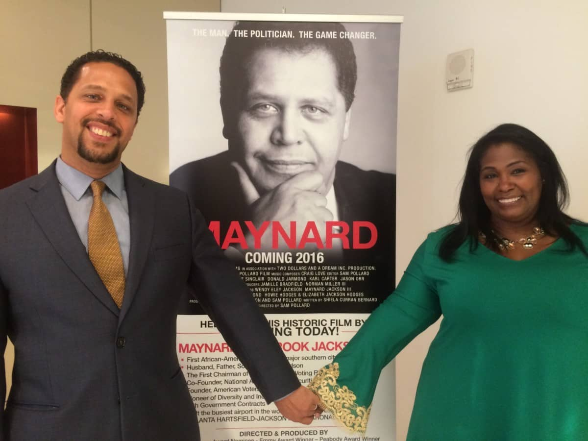 Maynard Jackson III and Wendy Eley Jackson