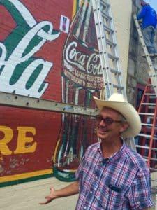 Coke sign Manuel's Jack Fralin