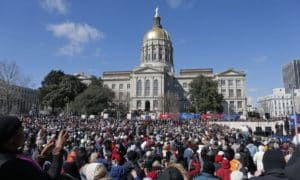 HB 757 protest rally