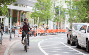 The Atlanta Bicycle Coalition envisions a future for Midtown where bicycling is a pleasant and safe experience. Credit: Atlanta Bicycle Coalitipon