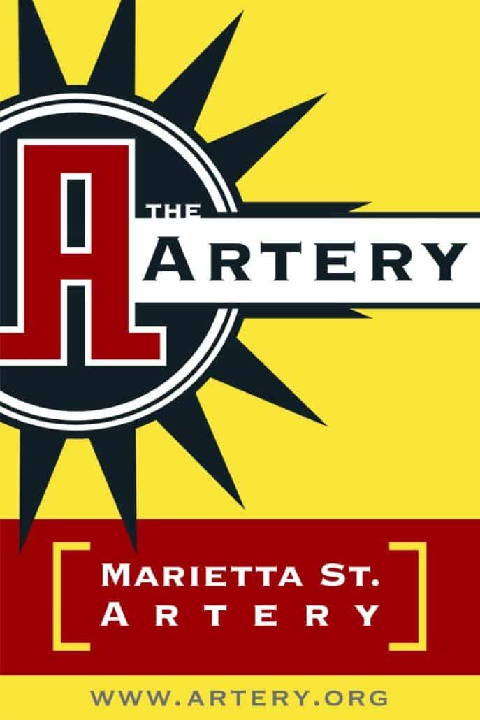 Marietta St. Artery
