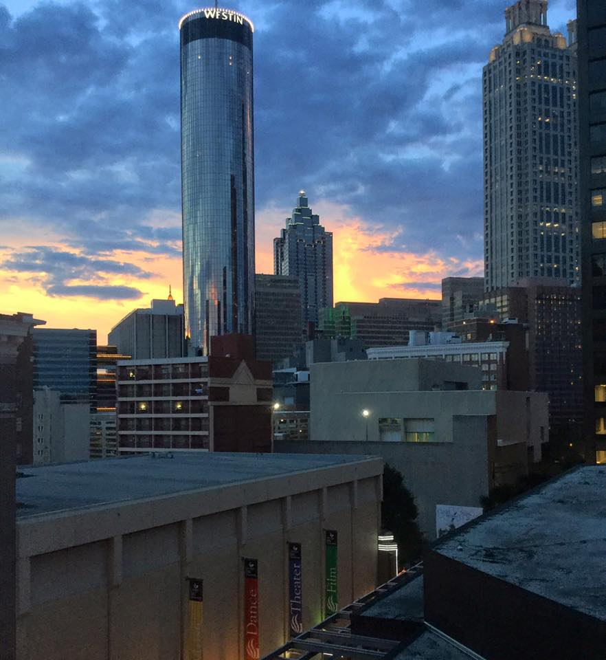 Downtown Sunset by ATL Urbanist Darin Givens