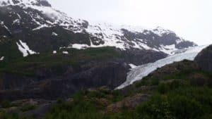 Exit glacier, view