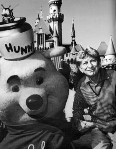 Winnie the Pooh was Holloway's favorite character. Courtesy of Donnie Jarrell Collection