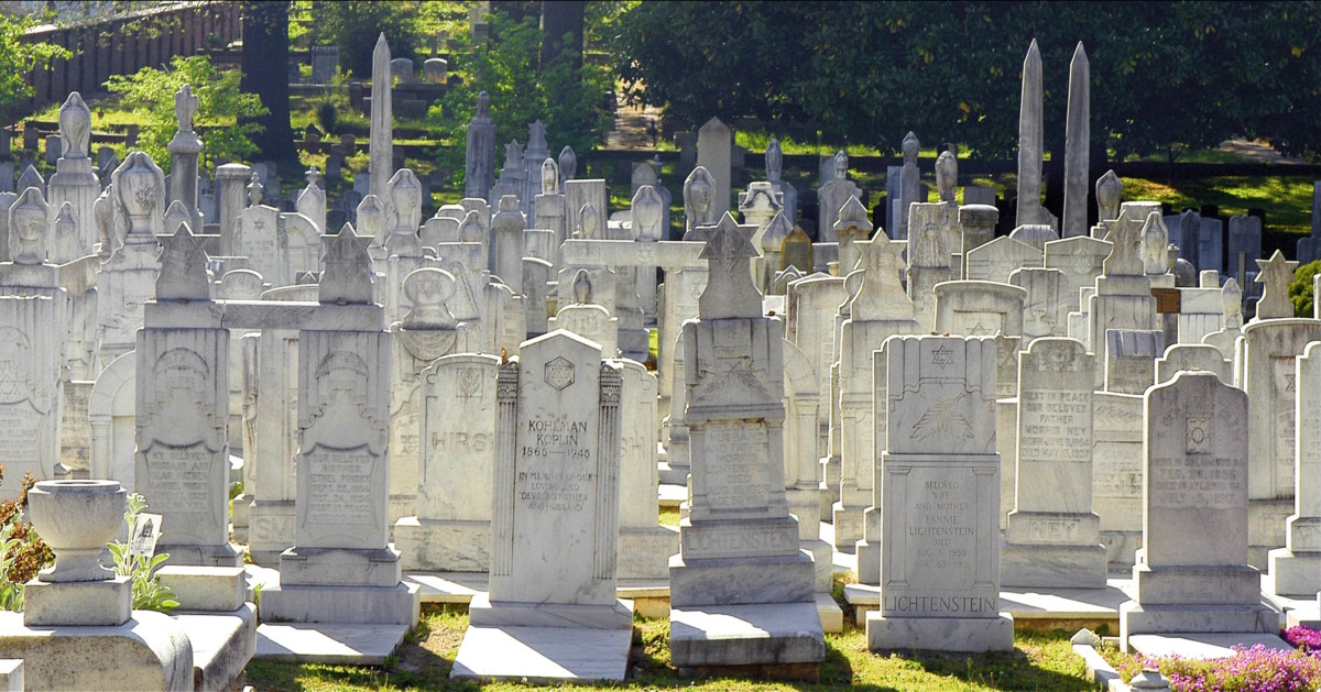 Oakland cemetery, jewish section