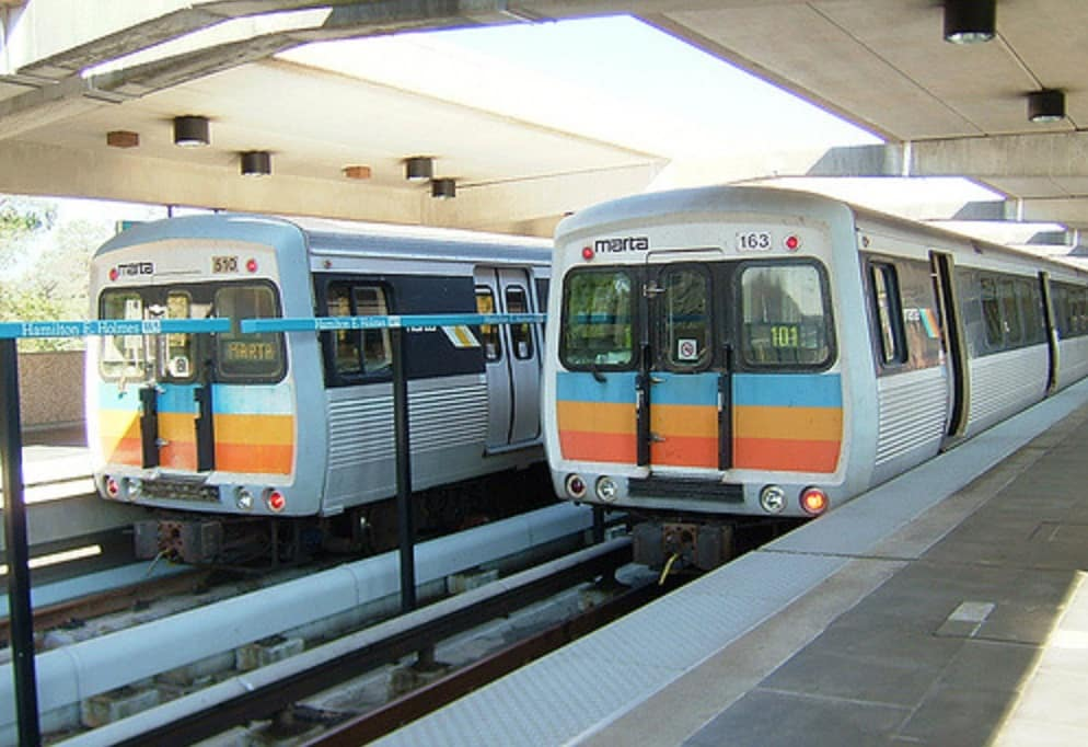 marta train cars