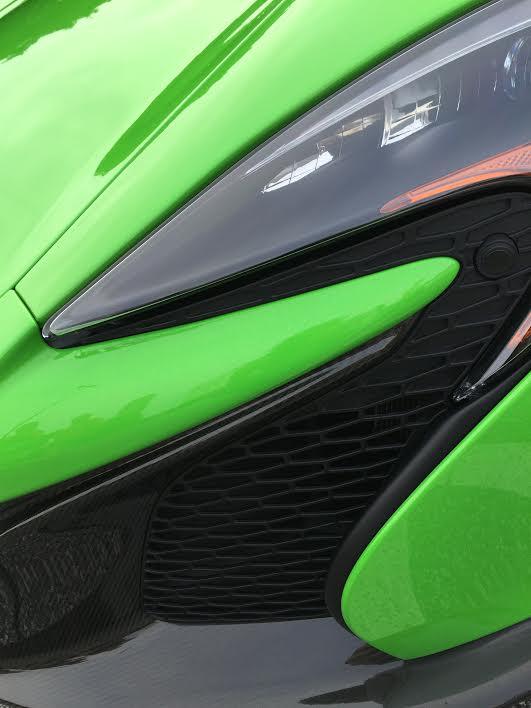 McLaren in the curves by Kelly Jordan