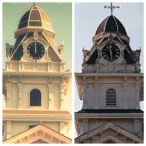 Hancock clock towner