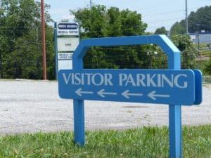North Georgia Medical Center, visitors