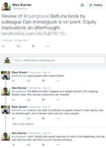 atlanta beltline, gravel tweets, sept 2016