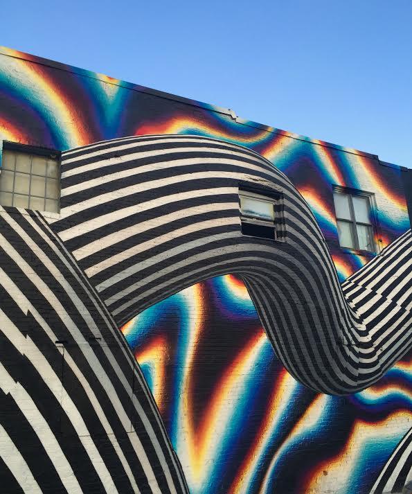 Swirling around Edgewood Ave by Kelly Jordan